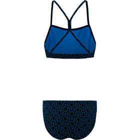 speedo Boomstar Allover Thinstrap 2-delige Bikini Dames, true navy/pool